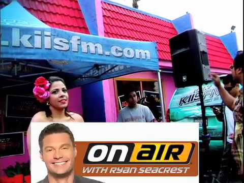"La Coacha on ""On air with Ryan Seacrest"" (102.7 Kiss Fm)"