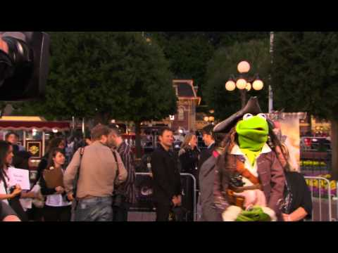 Kermit Hosts Pirates of the Caribbean Premiere At Disneyland