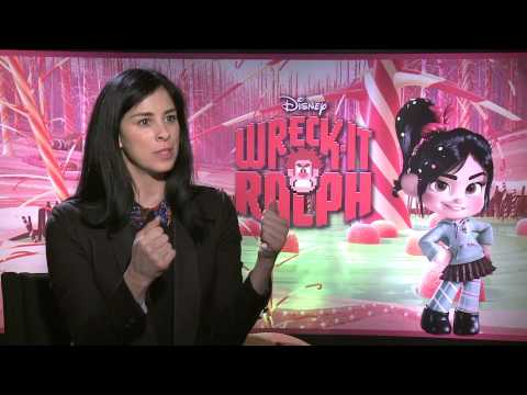 Sarah Silverman of Wreck-It Ralph on ñ Life with Meli Hernandez