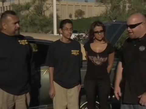 Hot Vida Guerra Judges Low Rider Car Show