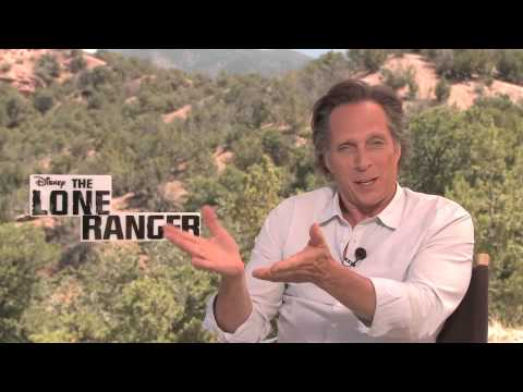 Miami Heat: The Lone Ranger; William Fichtner and Jerry Bruckheimer root for the HEAT :)