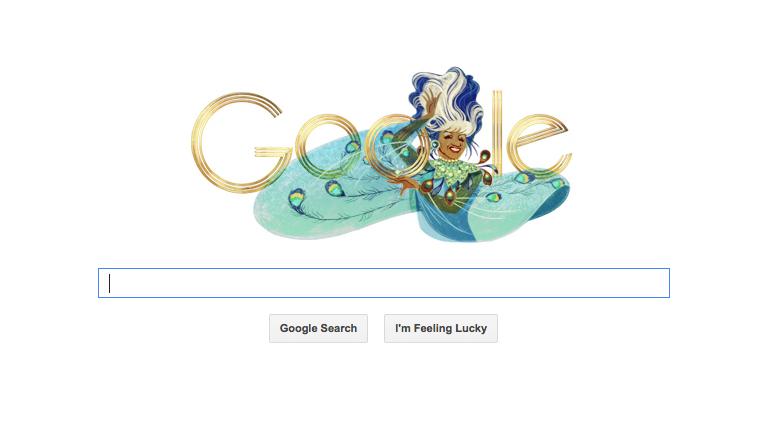 To Celebrate Celia Cruz's Birthday - Google unveils this gorgeous Azucar-filled Logo. Glorious!