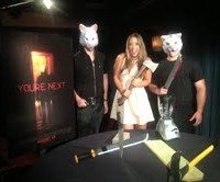 YOU'RE NEXT star Sharni Vinson chats with Mel