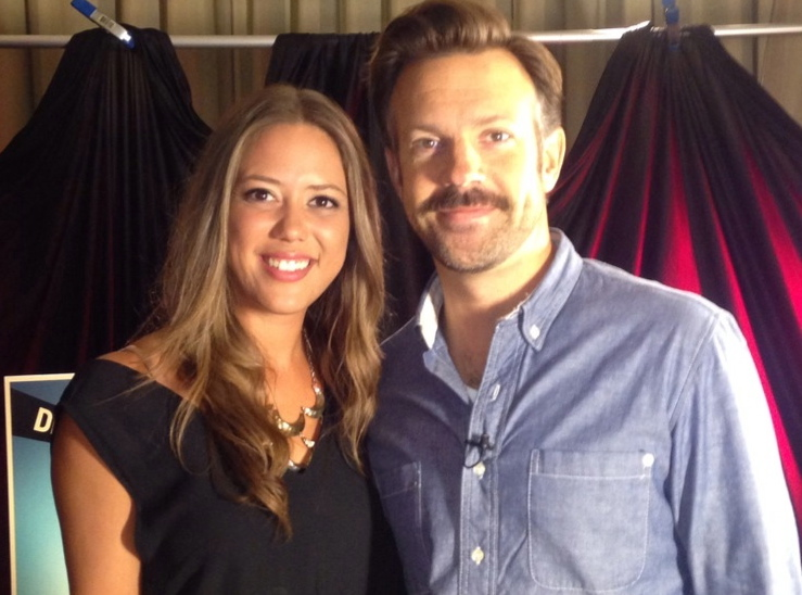 Melissa Hernandez chats with Jason Sudeikis about We're the Millers and Lebron James?!?
