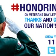 This Veterans Day – 11-11-13 Honoring our Heros with a Thunderclap