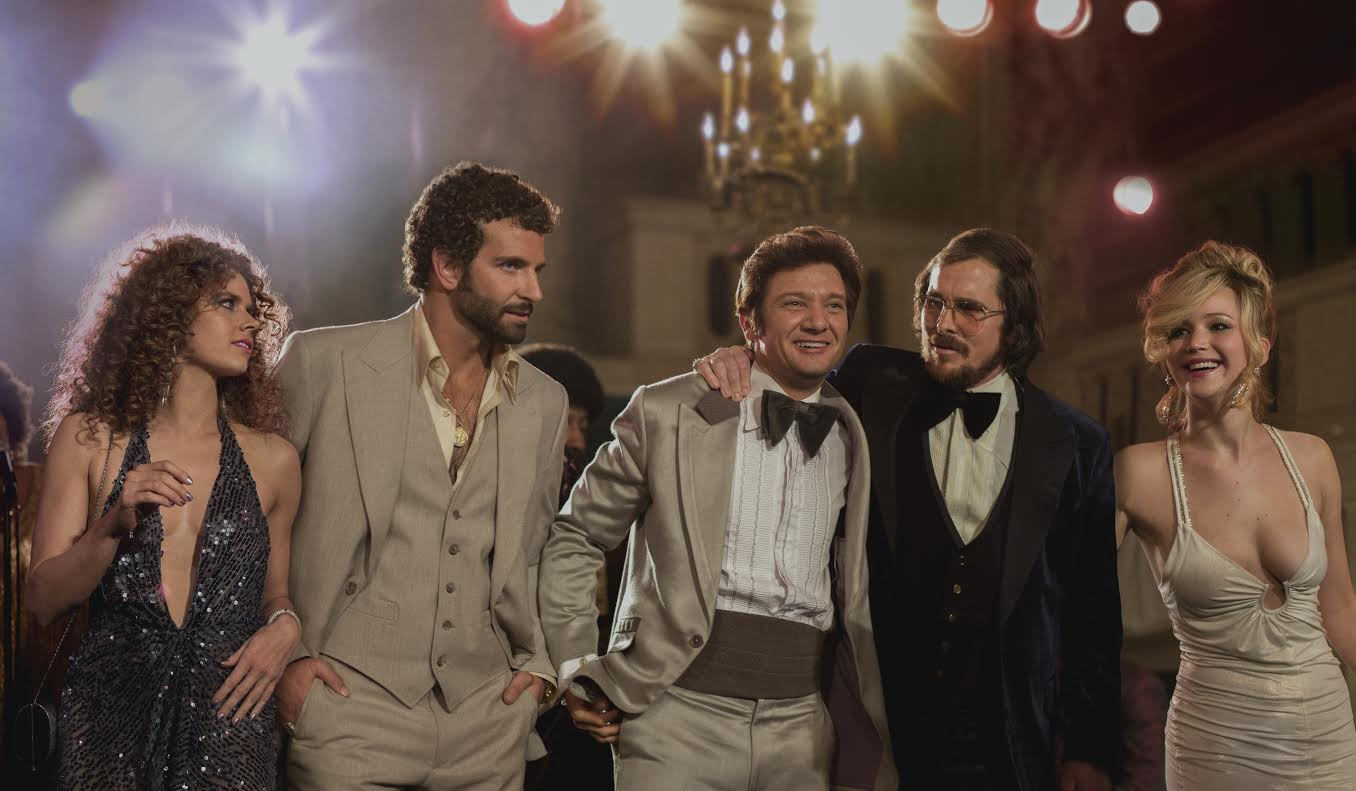 All star cast of, American Hustle, hits theaters December 20th.