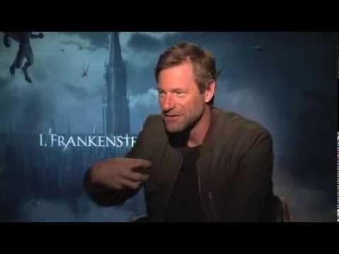 I, Frankenstein star Aaron Eckhart does not like Social Media but love South Beach.