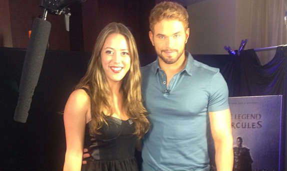 Kellan Lutz and Mel Hernandez hit it off and chat candidly about, The Legend of Hercules…