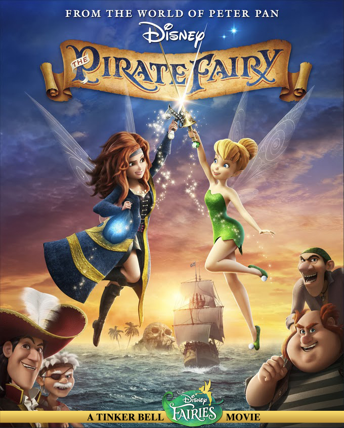 The Pirate Fairy is out on DVD!