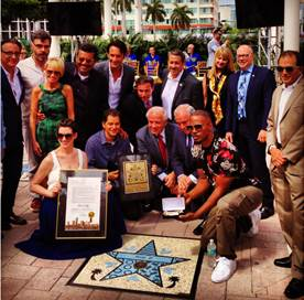 Miami now has it's own Walk of Fame…
