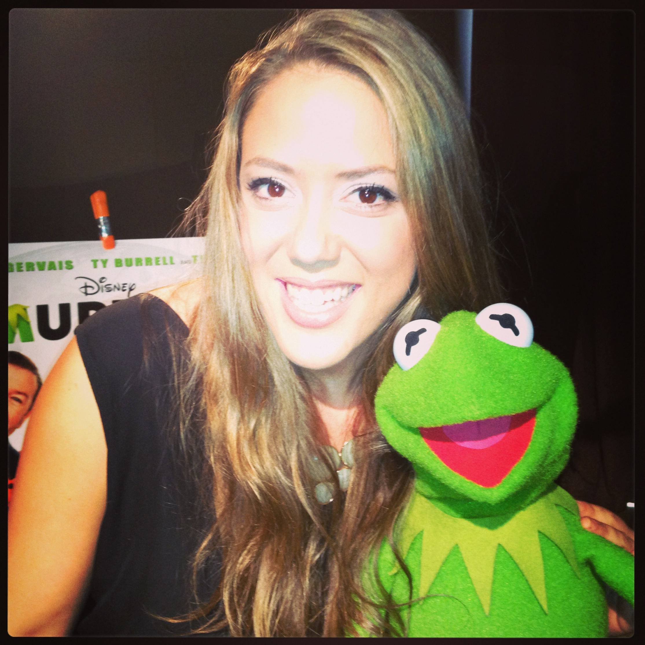 Kermit the Frog chats with Mel…