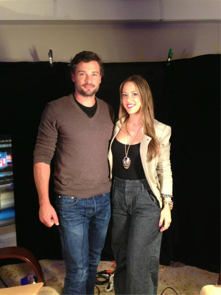 Tom Welling is QB in Draft Day.