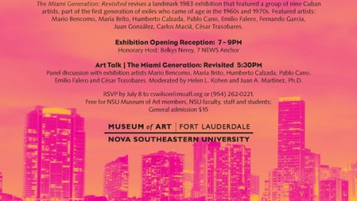 Miami Generation Revisted at the Ft. Lauderdale Museum of Art