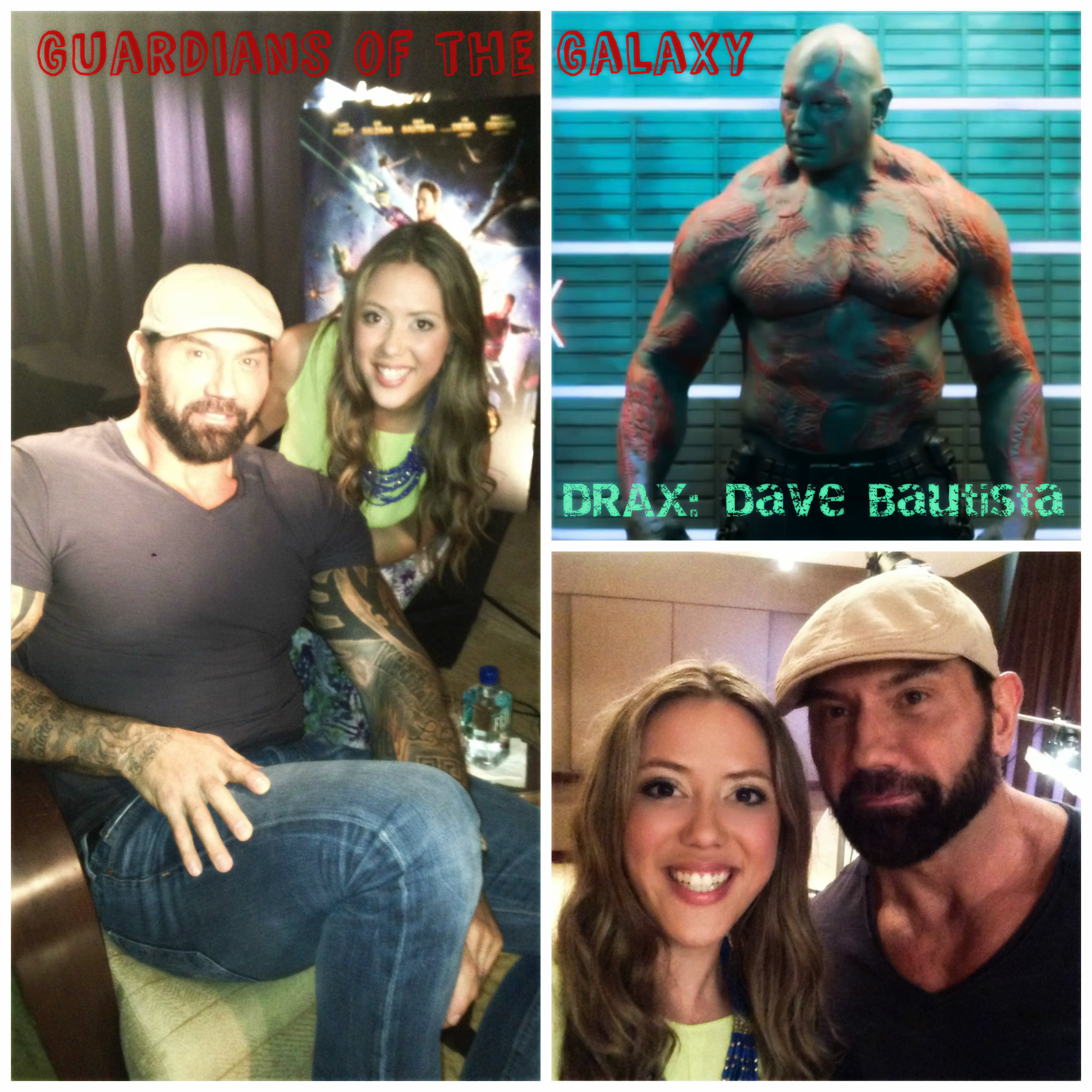 Guardians of the Galaxy with Dave Bautista
