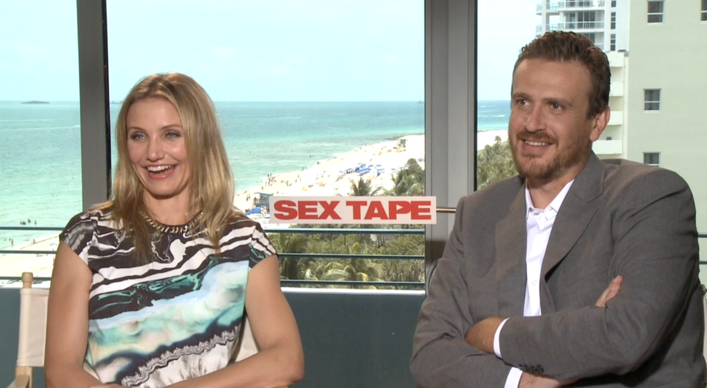 Cameron Diaz & Jason Segel chat with Mel about SEX TAPE.