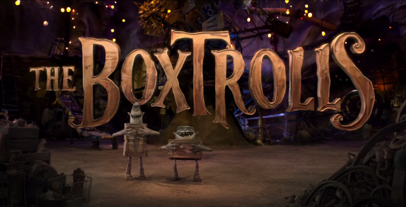 THE BOXTROLLS! Special message for Tracy Morgan.