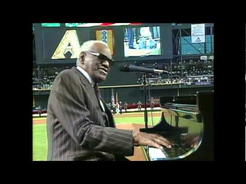 Happy 4th of July! Ray Charles Sings America The Beautiful