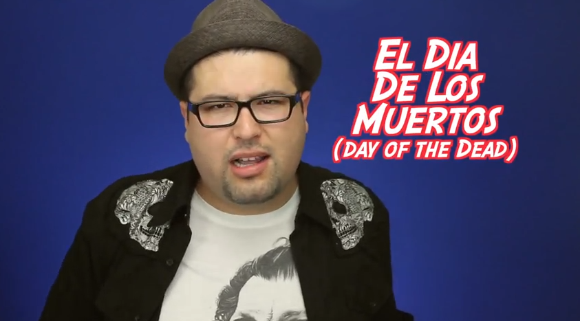 Eddie G – on the Dia de los Muertos