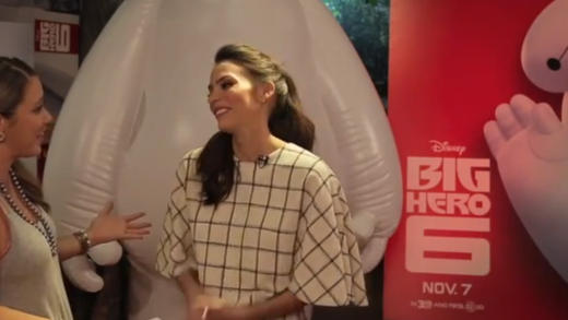 Genesis Rodriguez chats Big Hero 6 & Honey Lemon