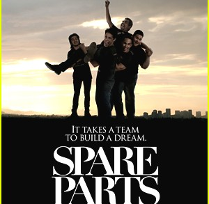 George Lopez chats with Mel about Spare Parts