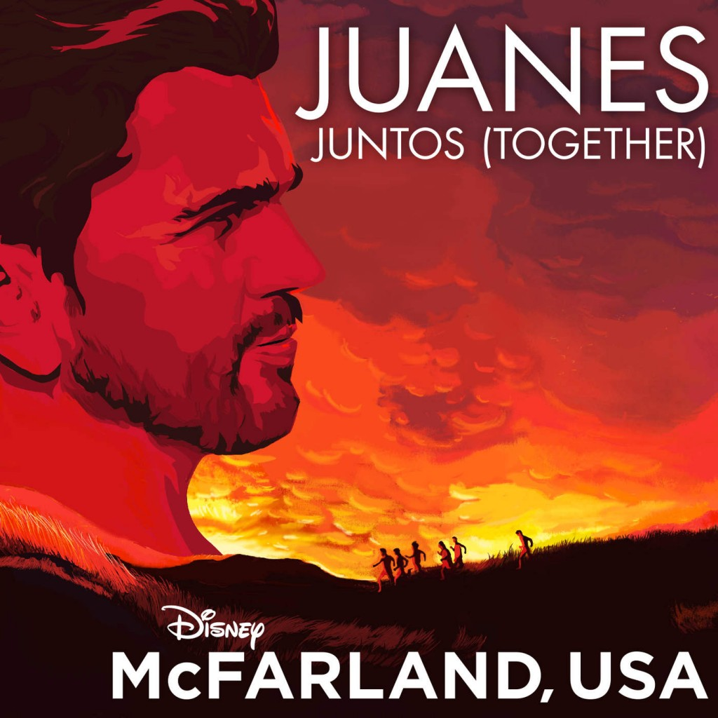 Juanes for Disney's, McFarland USA.