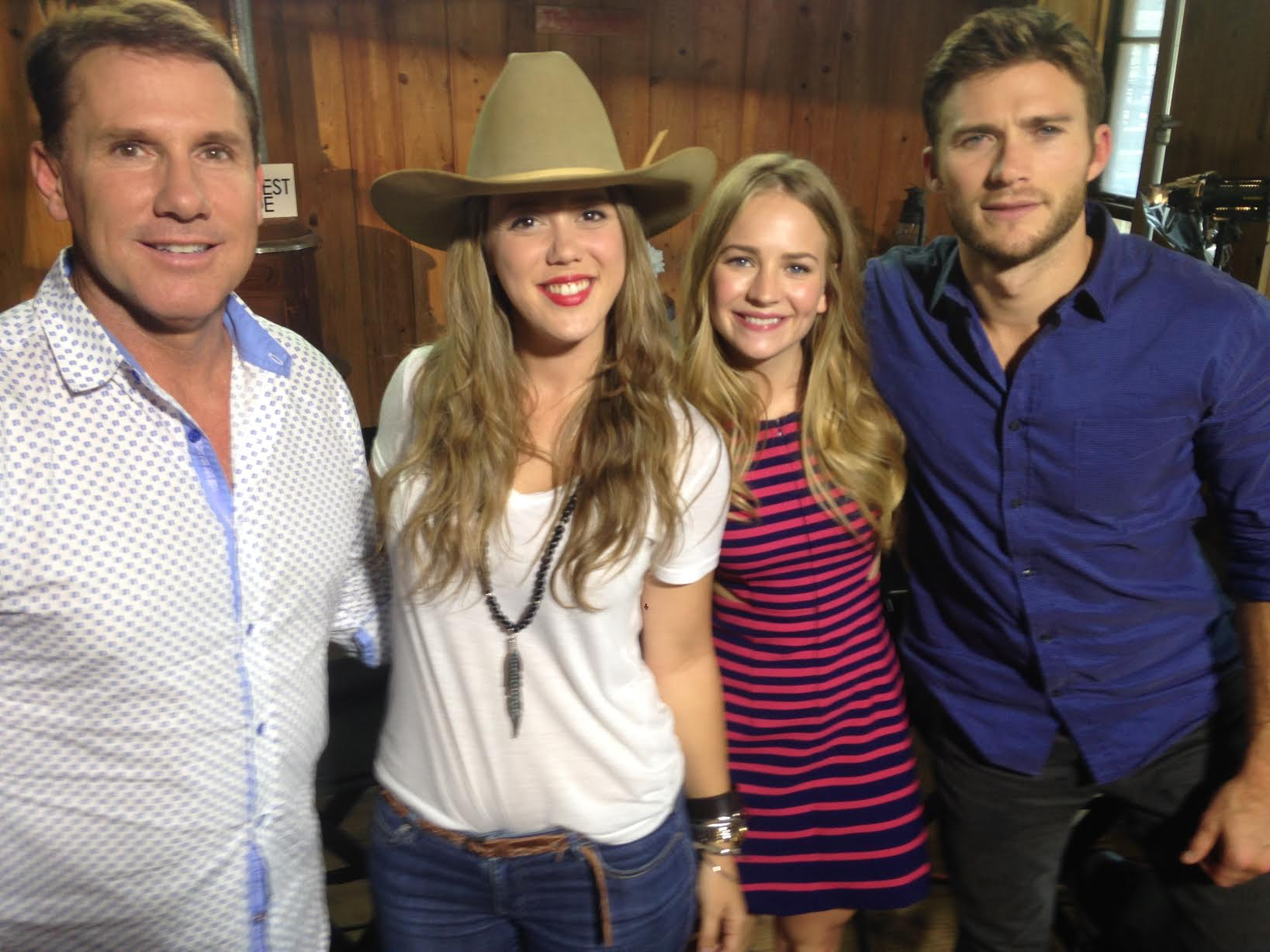 Nicholas Sparks, Britt Robertson, Scott Eastwood… The Longest Ride.