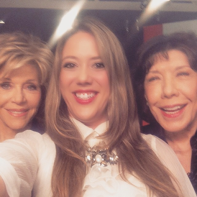 Jane Fonda & Lily Tomlin are Grace and Frankie