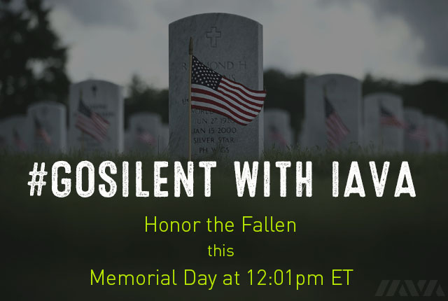 We took the #GoSilent pledge. Join us in honoring our nation's fallen