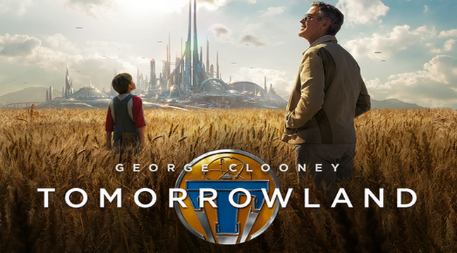George Clooney in Disneys, Tomorrowland