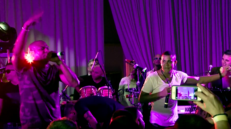 Gente de Zona Perform at Private Concert in Miami