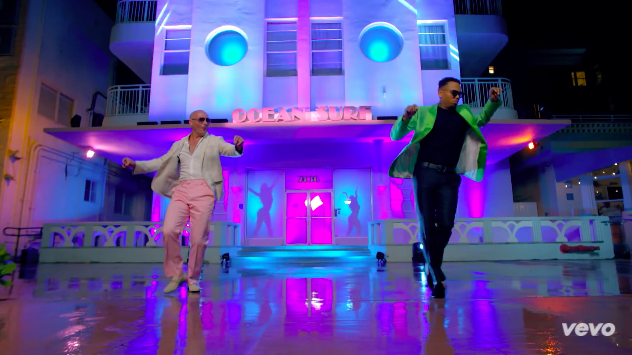 Pitbull's FUN video is Everything it Should Be