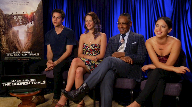 The Cast of Maze Runner: The Scorch Trials talks to Meli
