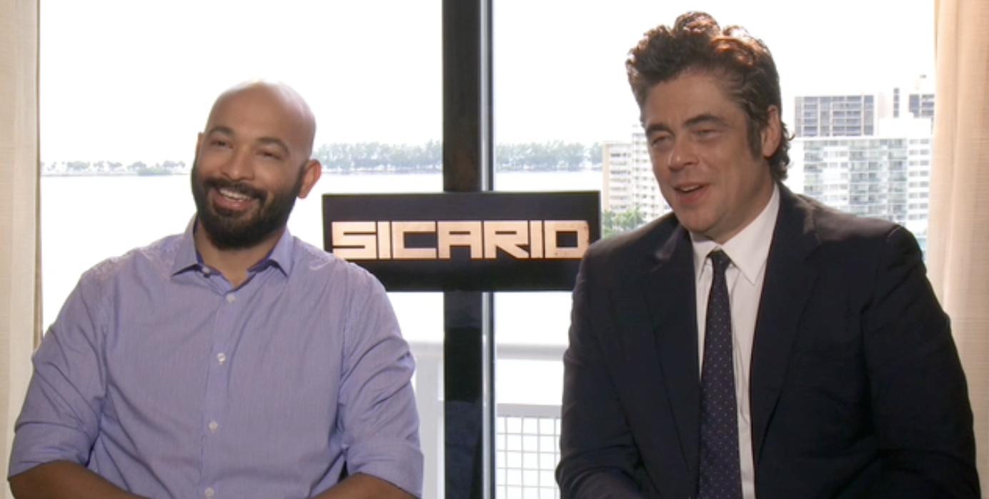 SICARIO: Benicio Del Toro & Maximiliano Hernandez