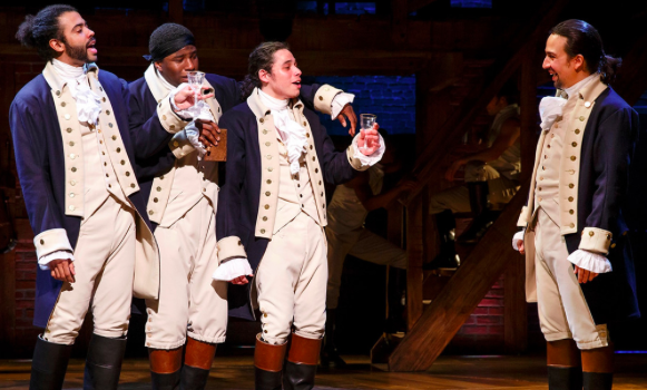 'Hamilton' on Broadway is Making and Changing History!