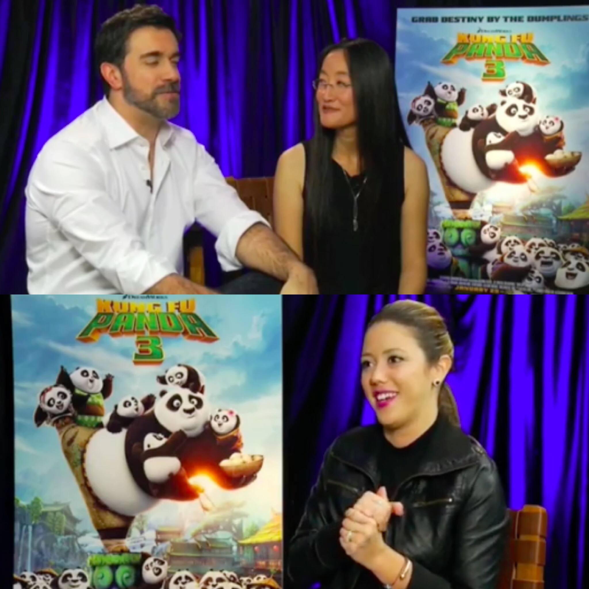 Meli Chats with Animators from Kung Fu Panda 3
