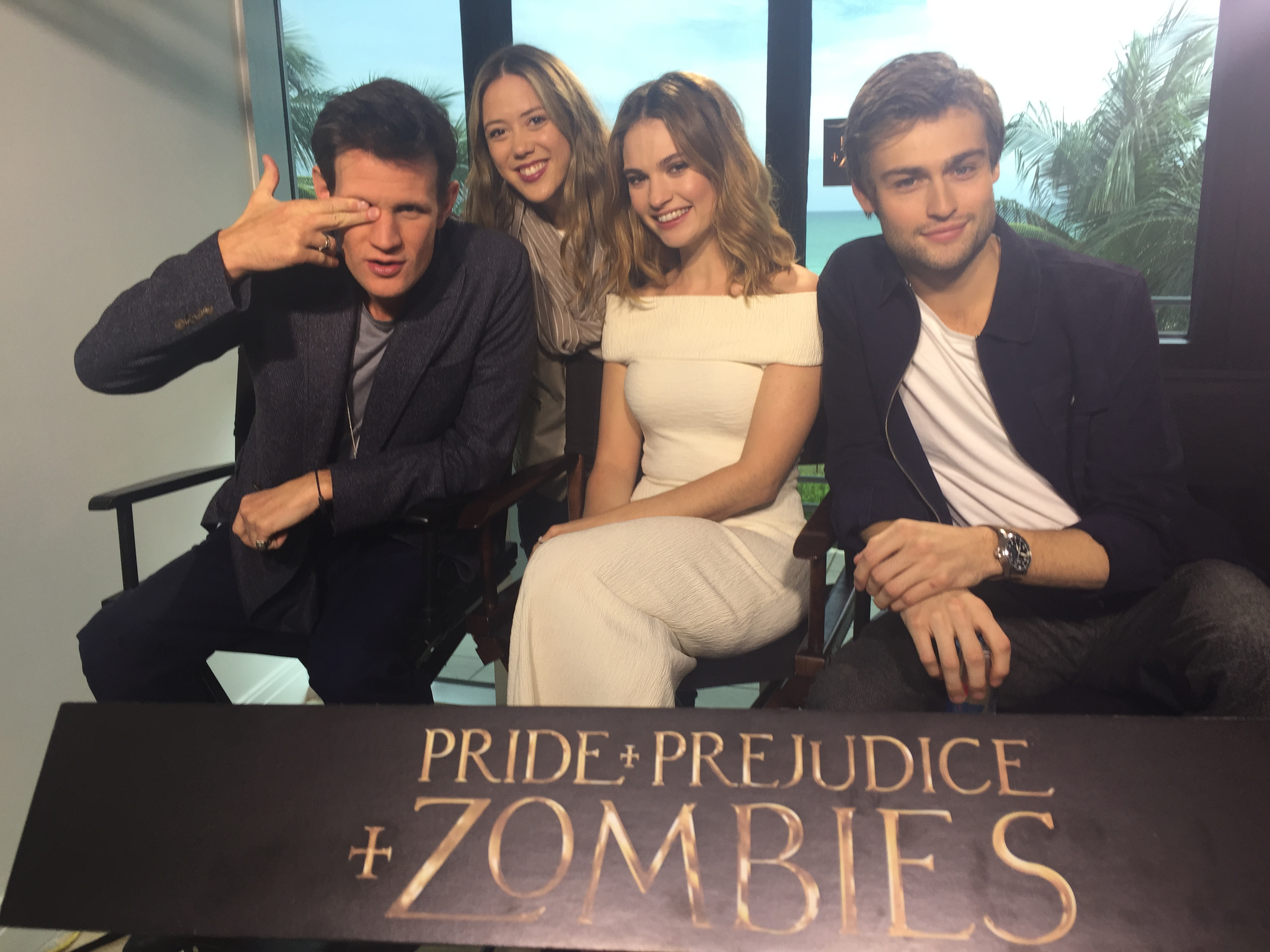 """What's ñ?"" Pride, Prejudice and Zombies."""