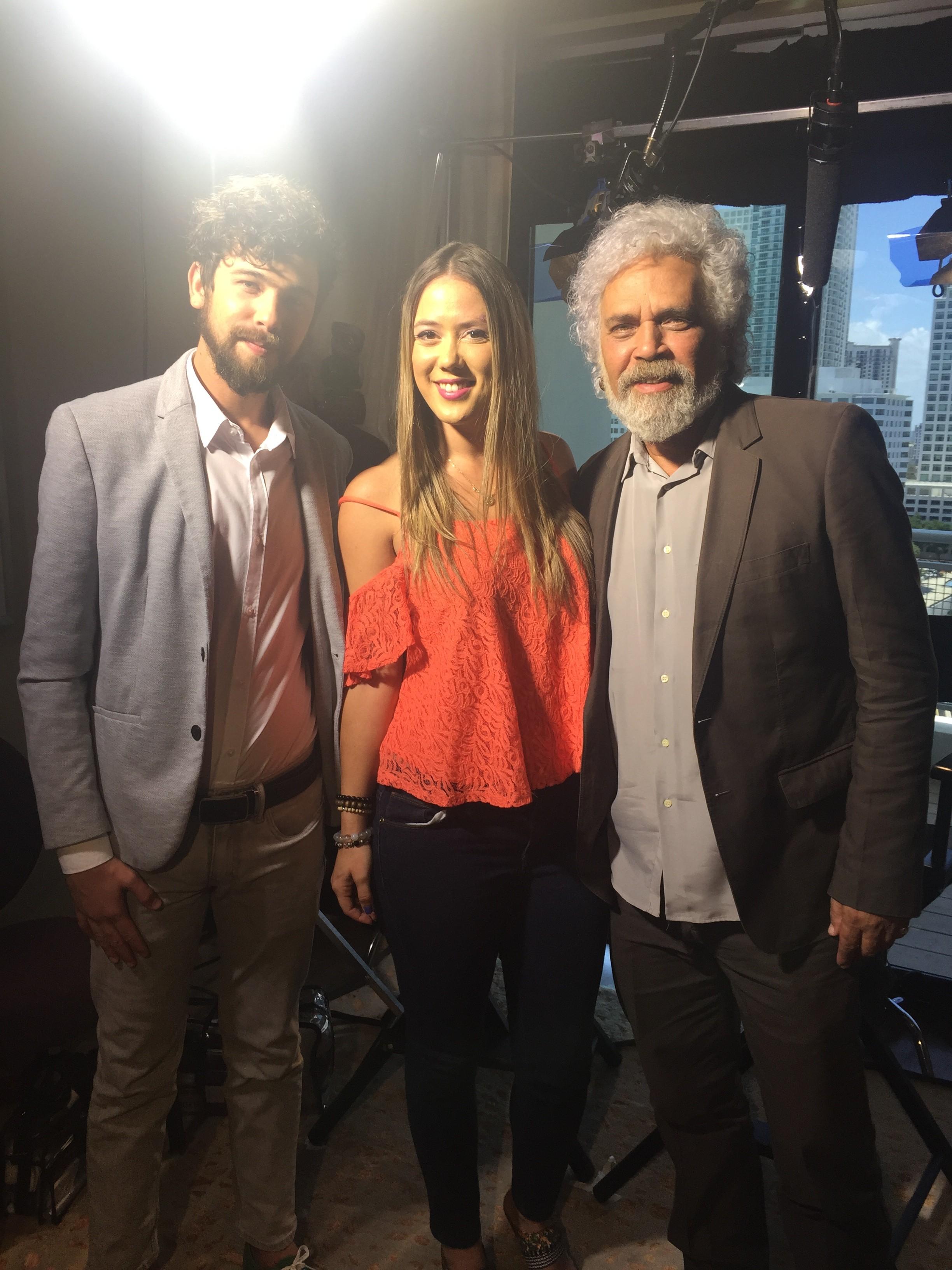 VIVA, Hector Media y Luis Alberto Garcia