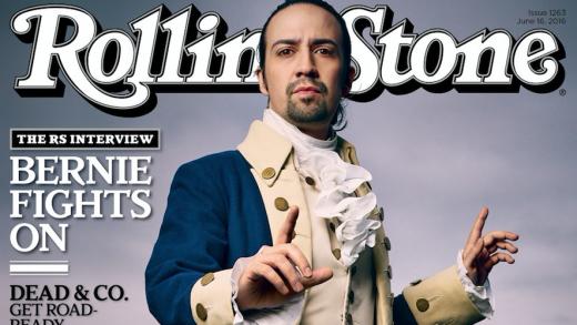 'Hamilton' on Rolling Stone