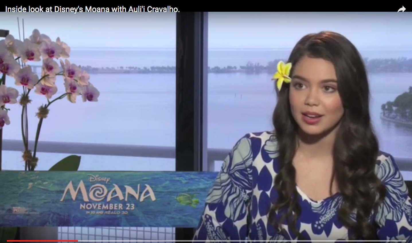 Voice of Disney's Moana – Auli'i Cravalho