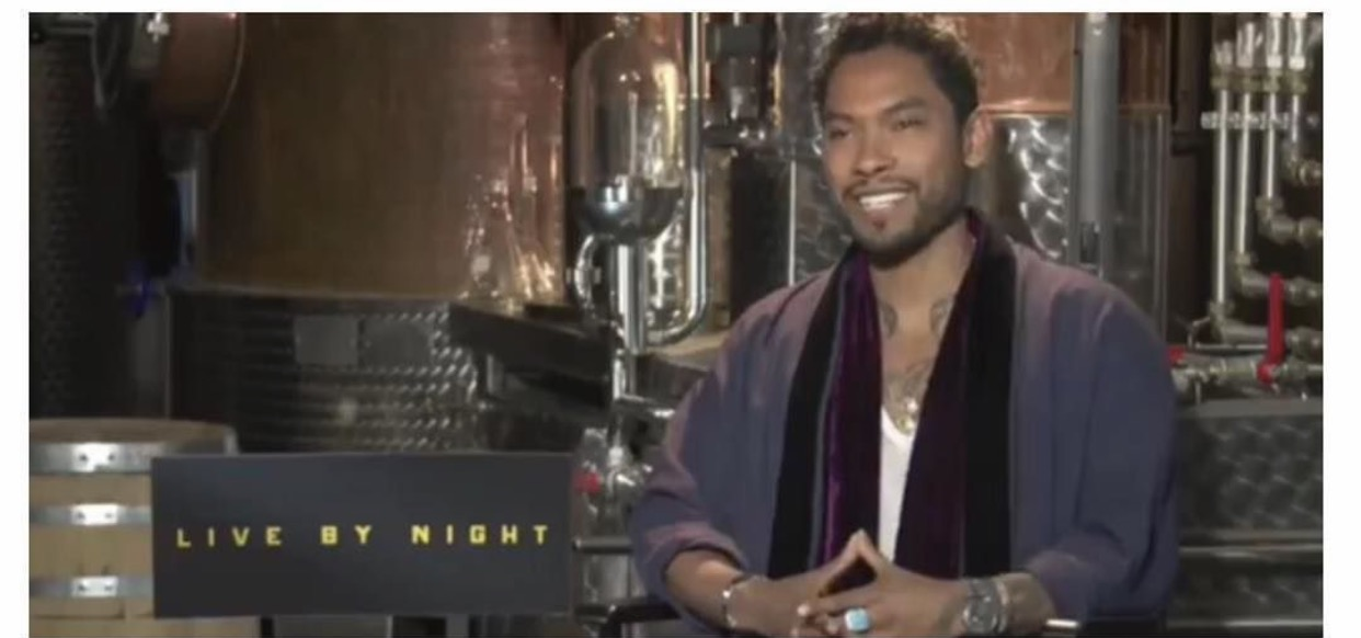 R&B singer Miguel chats Live by Night