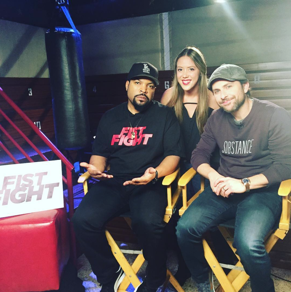 Ice Cube and Charlie Day, FIST FIGHT!