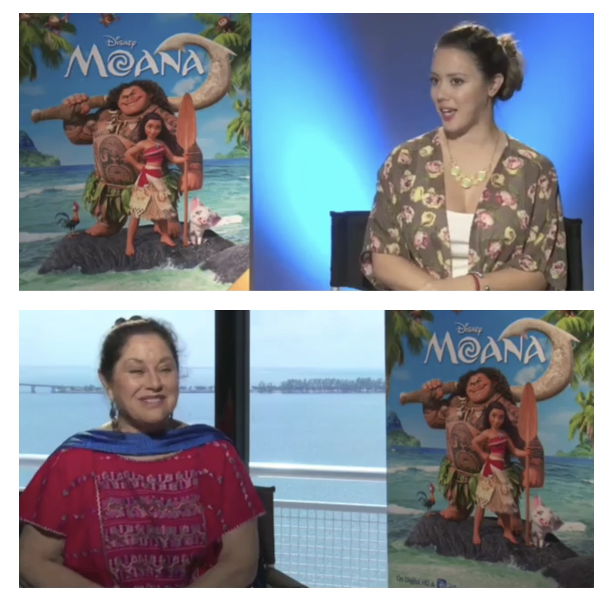 Angelica Aragon chats, Moana now on DVD!