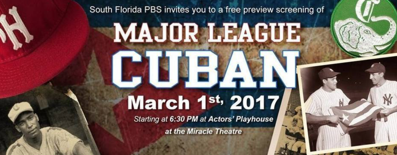 Major League Cuban airs on PBS