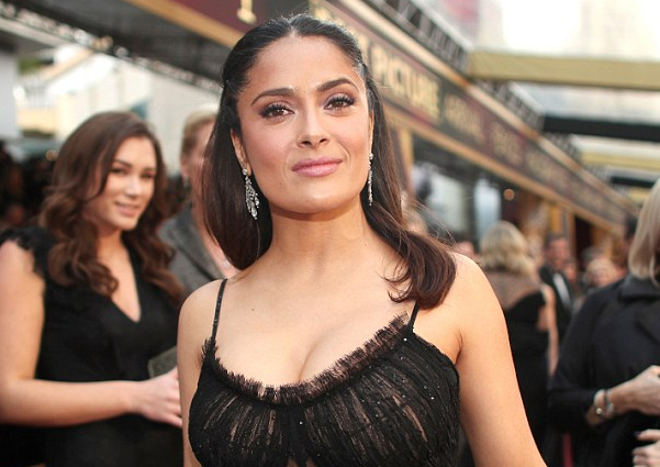 Mariachi Show at Cannes Was Thought out by Salma Hayek