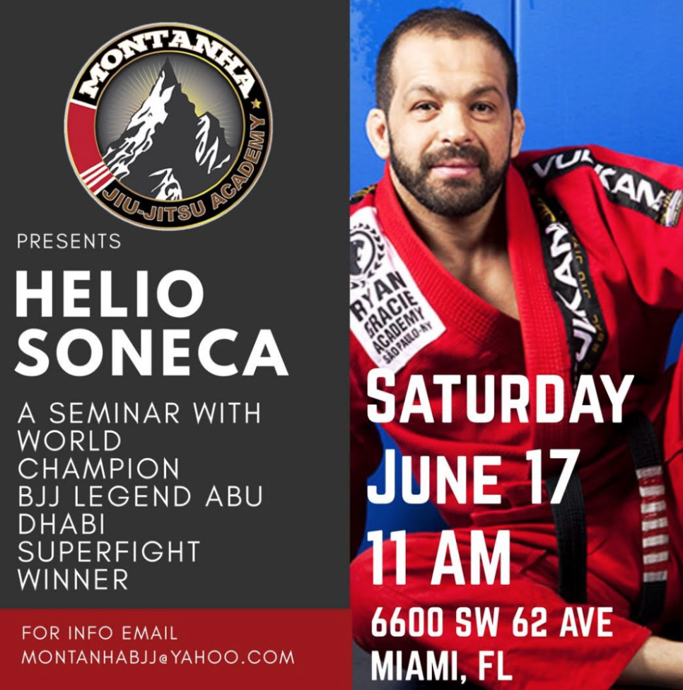 Soneca Seminar in Miami on Sat