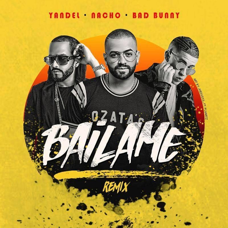 "Nacho Slays With ""Báilame"" Remix"