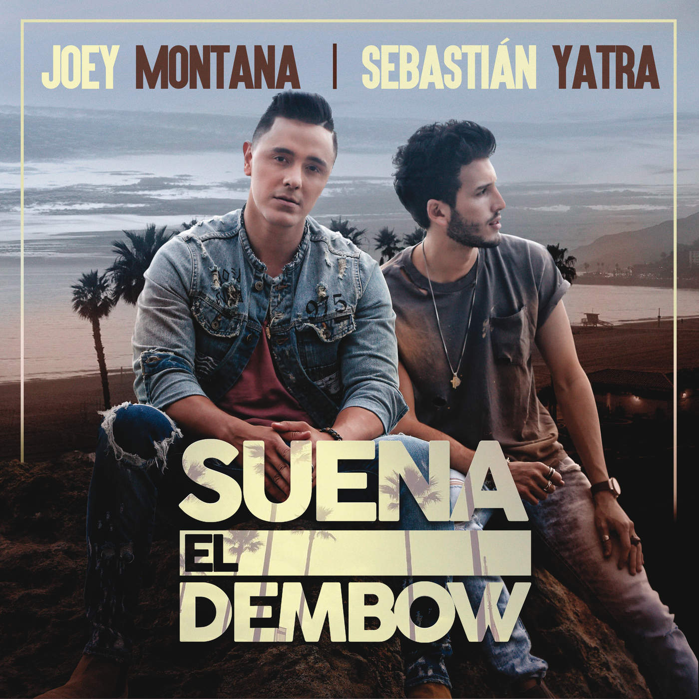 "Joey Montana and Sebastián Yatra ""Suena El Dembow"" Out Now!"