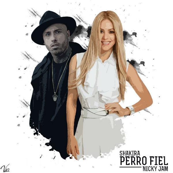 Nicky Jam and Shakira!