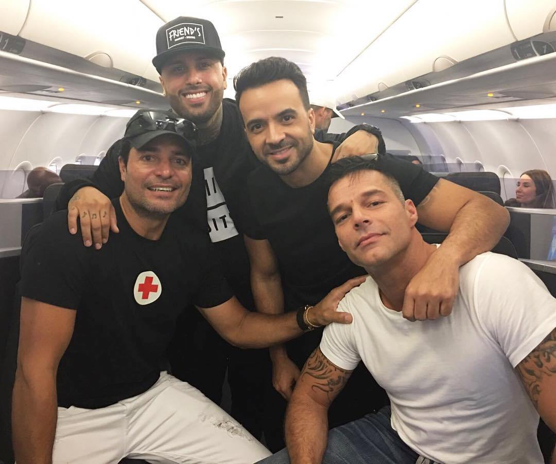 Latino Stars Give Helping Hand In Puerto Rico