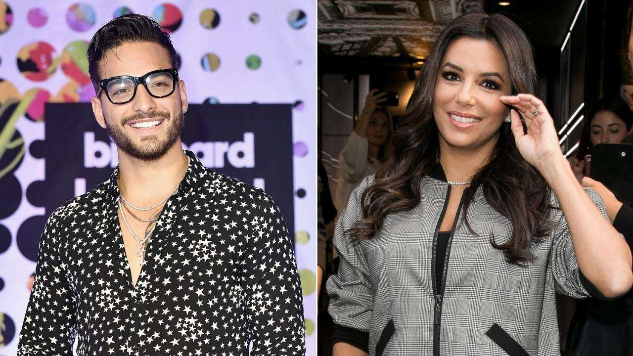 Maluma And Eva Longoria Unite To Help Mexico